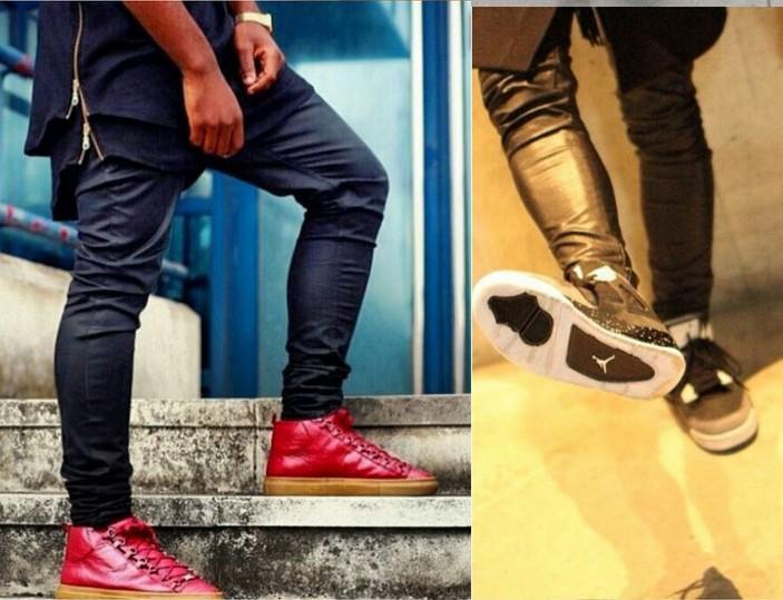 a63b1fa44e9ef4 2019 Hot Mens Designer Skinny Jeans Streetwear Men Leggings PANT Black Hip  Hop Skinny Slim Fit Jeans Coated Denim Jeans From Bmw2, $28.11 | DHgate.Com