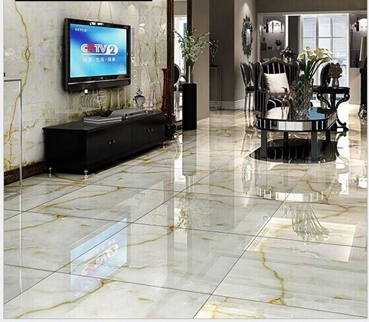 2017 Ceramic Tile 800 * 800 High End Full Cast Glazed Tiles Wear Non Slip  Background Living Room From Yaling168, $2996.99 | Dhgate.Com