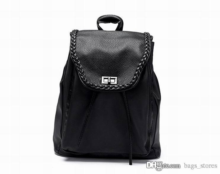 Fashion Backpack Men Women Leather Bags Brand Designer Back Packs ...