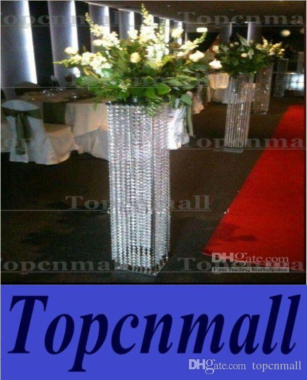 How To Make Diy Lighted Wedding Columns.White Pillars Stands Flowers For Weddings Floor Standing Wedding Centerpiece And Flower Stand Lighted Wedding Collumns