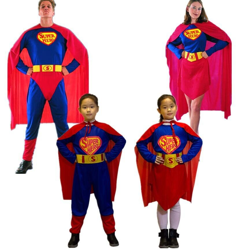 Whole Family Super Hero Cosplay Spiderman Cosplay For ...