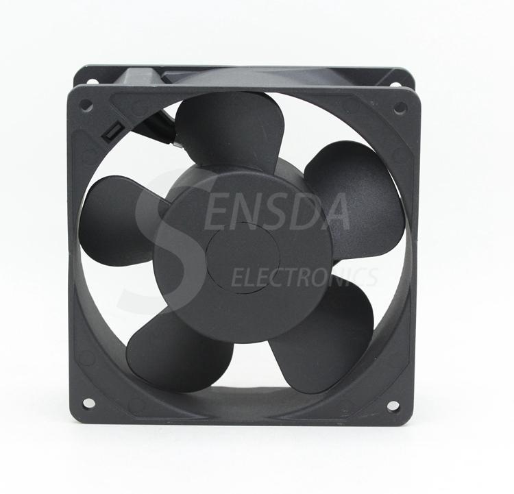 Ventiladores de refrigeração axiais industriais do metal industrial da CA 230V 12038 12cm 120mm de NMB-MAT 4715MS-23T-B5A