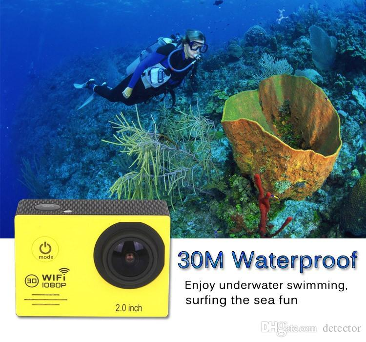 2016 Hot SJ7000 Action Camera Wifi 2.0 inch LTPS LED HD 1080P Sports Waterproof DV Extreme Mini Cam Recorder Marine Diving