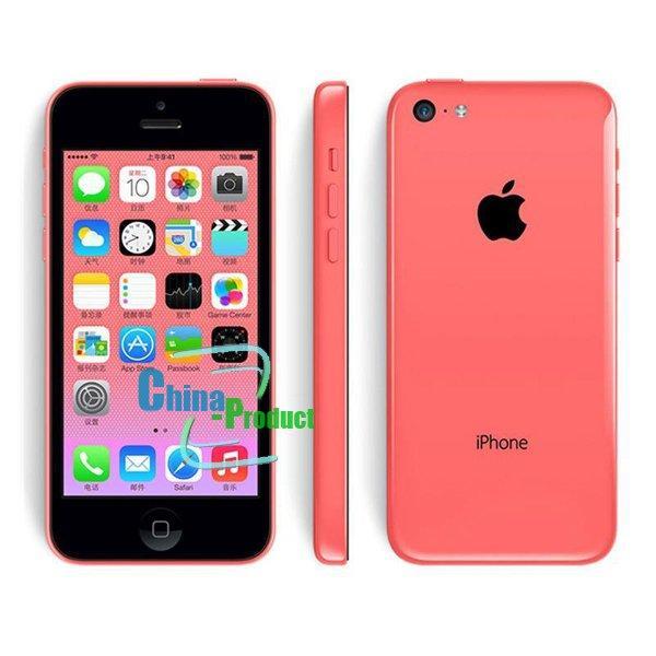 Оригинал разблокирован iPhone 5c сотовые телефоны 8 ГБ 16 ГБ 32 ГБ dual core WCDMA + WiFi + GPS 8MP камера 4.0