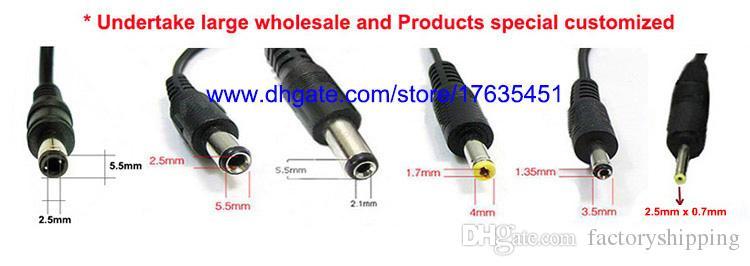 التي جودة عالية AC 100-240V إلى DC 6V 1A محول التيار الكهربائي و 5.5mm 2.1mm س دي إتش إل الحرة الشحن
