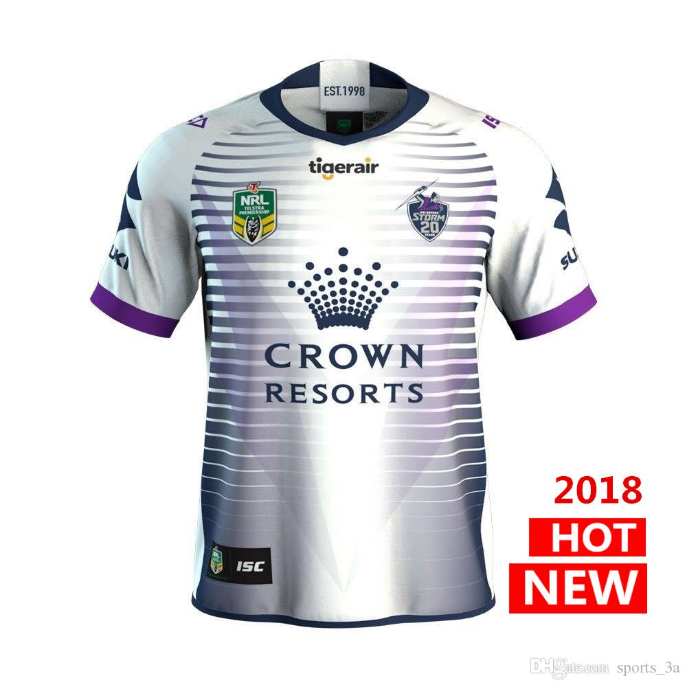 2c9dc7b3741 2019 Melbourne Storm 2018 2019 Home Away Rugby Jerseys NRL National Rugby  League Shirt Nrl Jersey MELBOURNE STORM Shirts S 3xl From Sports_3a, ...