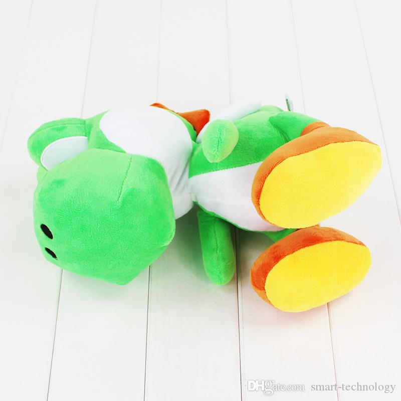 12 polegadas 30 CM Yoshi Boneca de Brinquedo de Pelúcia Super mario yoshi brinquedo de pelúcia Presente de Natal Frete Grátis