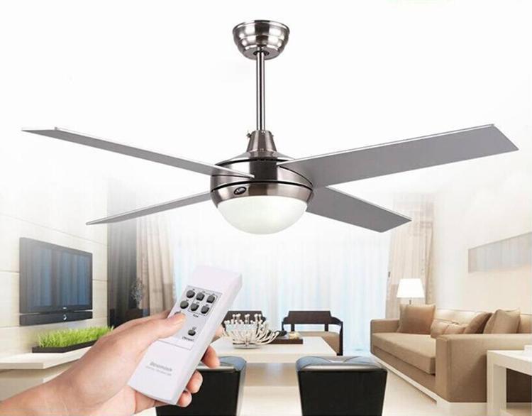 Compre ventilador de techo nico moderno ventilador con control remoto elegante l mpara de techo - Ventilador de techo moderno ...