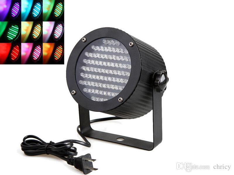 Profesyonel LED Sahne Işık 25 W 86 RGB LED Işık DMX Aydınlatma Lazer Projektör Sahne Parti Gösterisi Disko ABD Tak AC 90-240 V