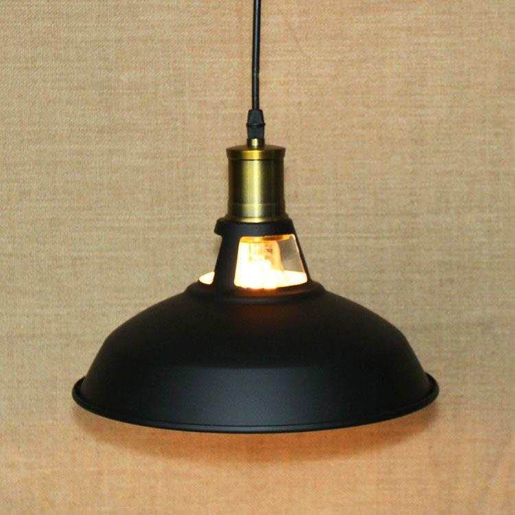 Deckenleuchte Küche | Grosshandel Fuloon Vintage Industrielle Deckenleuchte 1 Licht Metall
