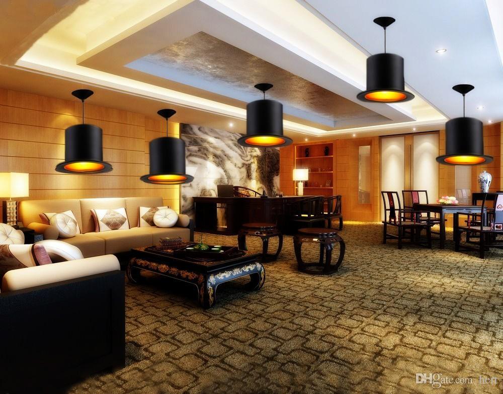 Großhandel Moderne Hut Pendelleuchten Cafe Restaurant Bar E27 Indoor ...