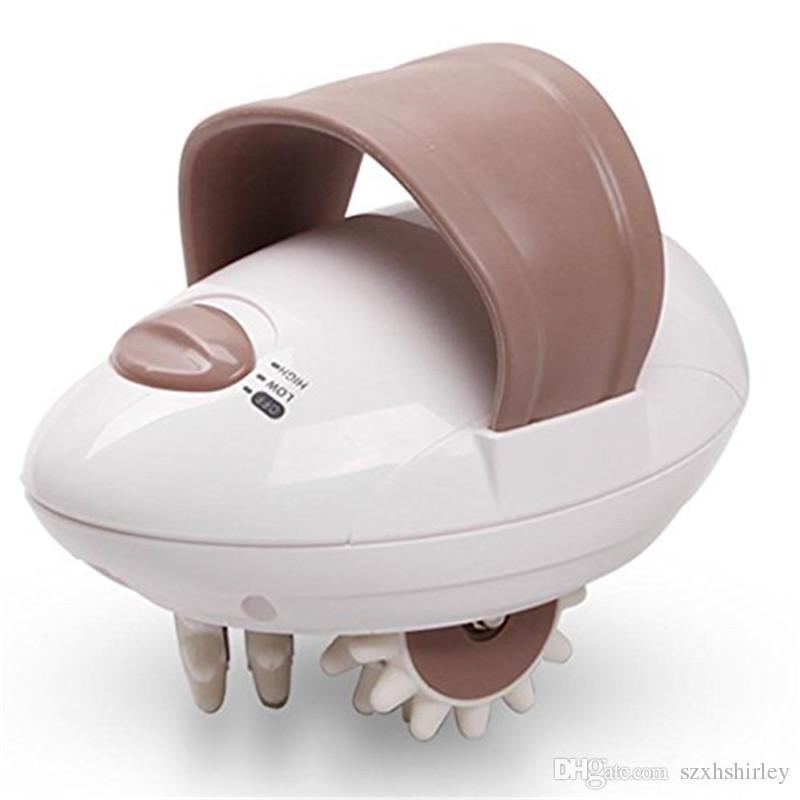 2018 nuovo massaggiatore elettrico del corpo del rullo capo della testa di massaggio 3D che dimagrisce il sistema di controllo anticellulite di massaggio Trasporto libero