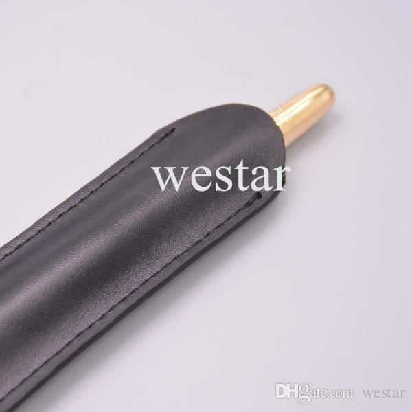 Sac de stylo de haute qualité cadeau stylo sac de papeterie pour stylos de 1 Mo, Monte marque nouvelle pochette MT-100