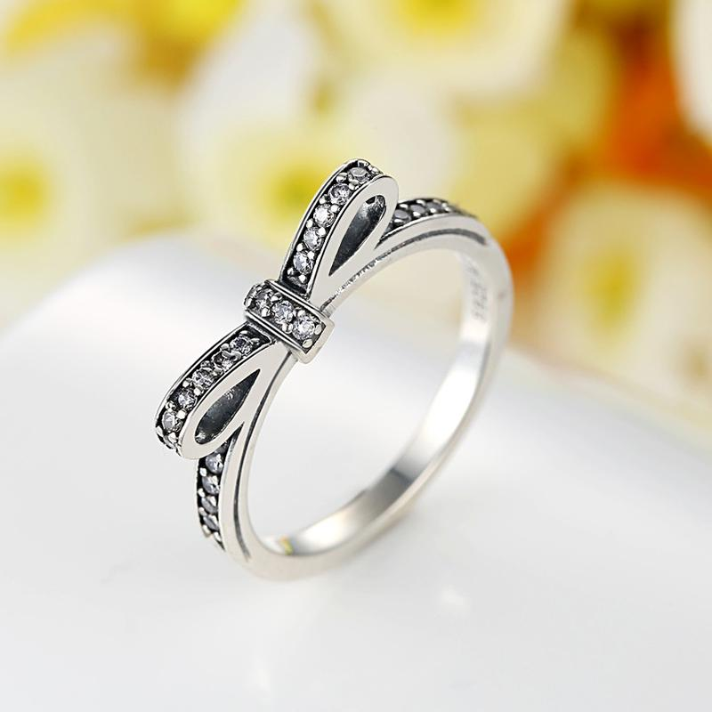 Cz Bow Ring
