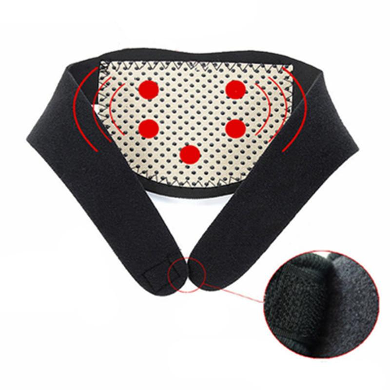 Braces Supports Tourmaline Self Heating Neck Guard Magnetic Therapy Neck Massager Cervical Belt Body Massager MaNeck Health Care