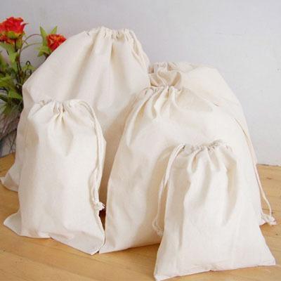 Natural Canvas Cotton Drawstring Sack Bag 20cm X 33cm 8x12 Pocket Shoe  Organizer Cloth Storage Bags Favor Holder UK 2019 From Diypouch 411d2e607