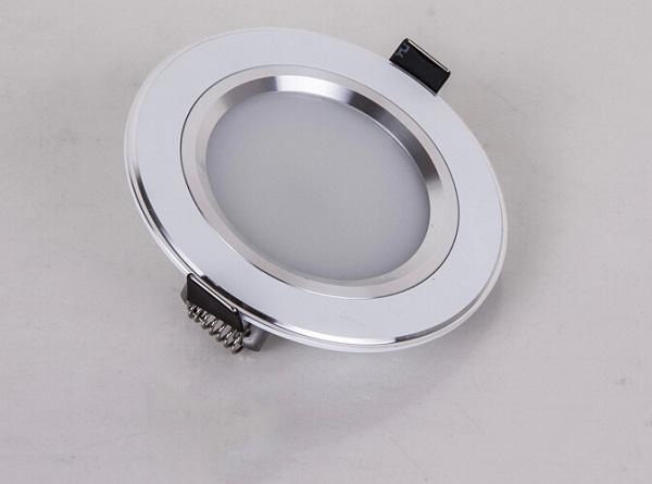 CREE pulgadas Led Empotrable Downlight Lámpara 160 Ángulo 21W 18W 15W 12W 9W Led Luz de techo AC 110-240V Dimmable Warm / Cool White