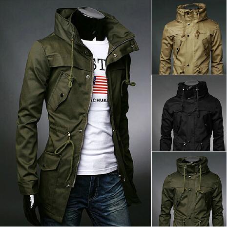 8ebee09c724 2019 New 2016 Autumn Winter High Quality Fashion Mens Trench Coat Men Long Coat  Winter Jacket Man Long Coat Outdoor Overcoat From Fashionstars