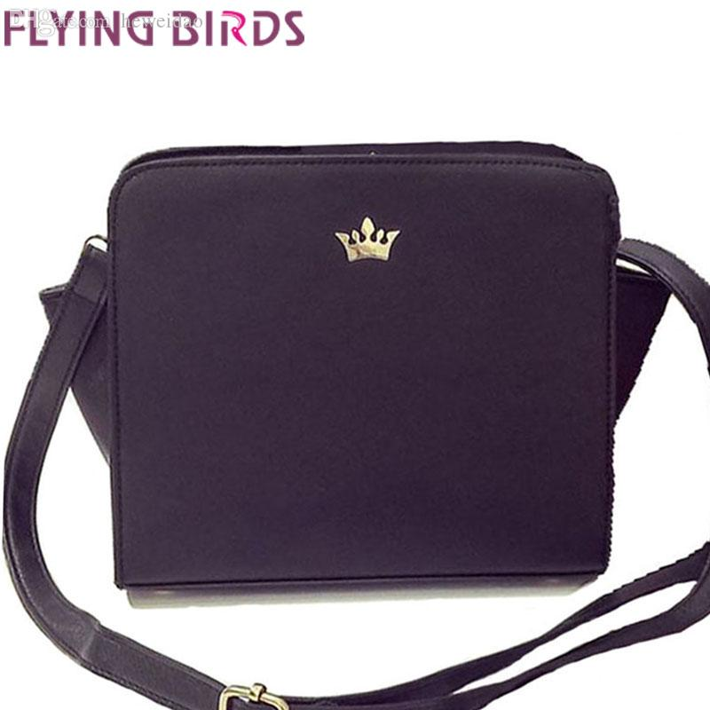 Wholesale-FLYING BIRDS! Women Bag for Women Messenger Bags Famous Brands Handbag  Shoulder Bag Ladies Bolsas Summer Style Purse LS4292fb Bag Leather Woman ... 6086b8e02826c