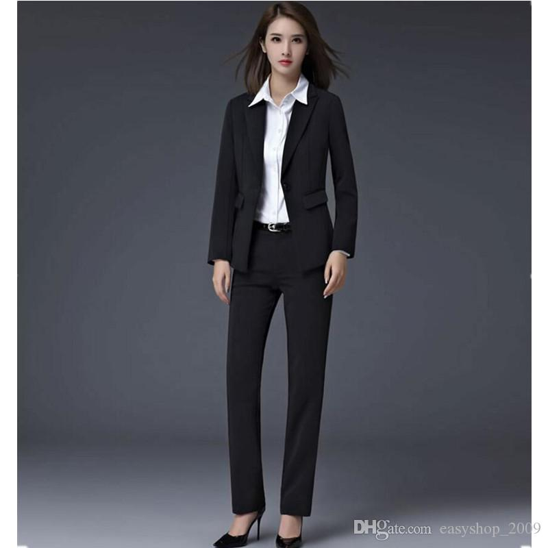 2019 in the autumn and winter women's suit cultivate one's