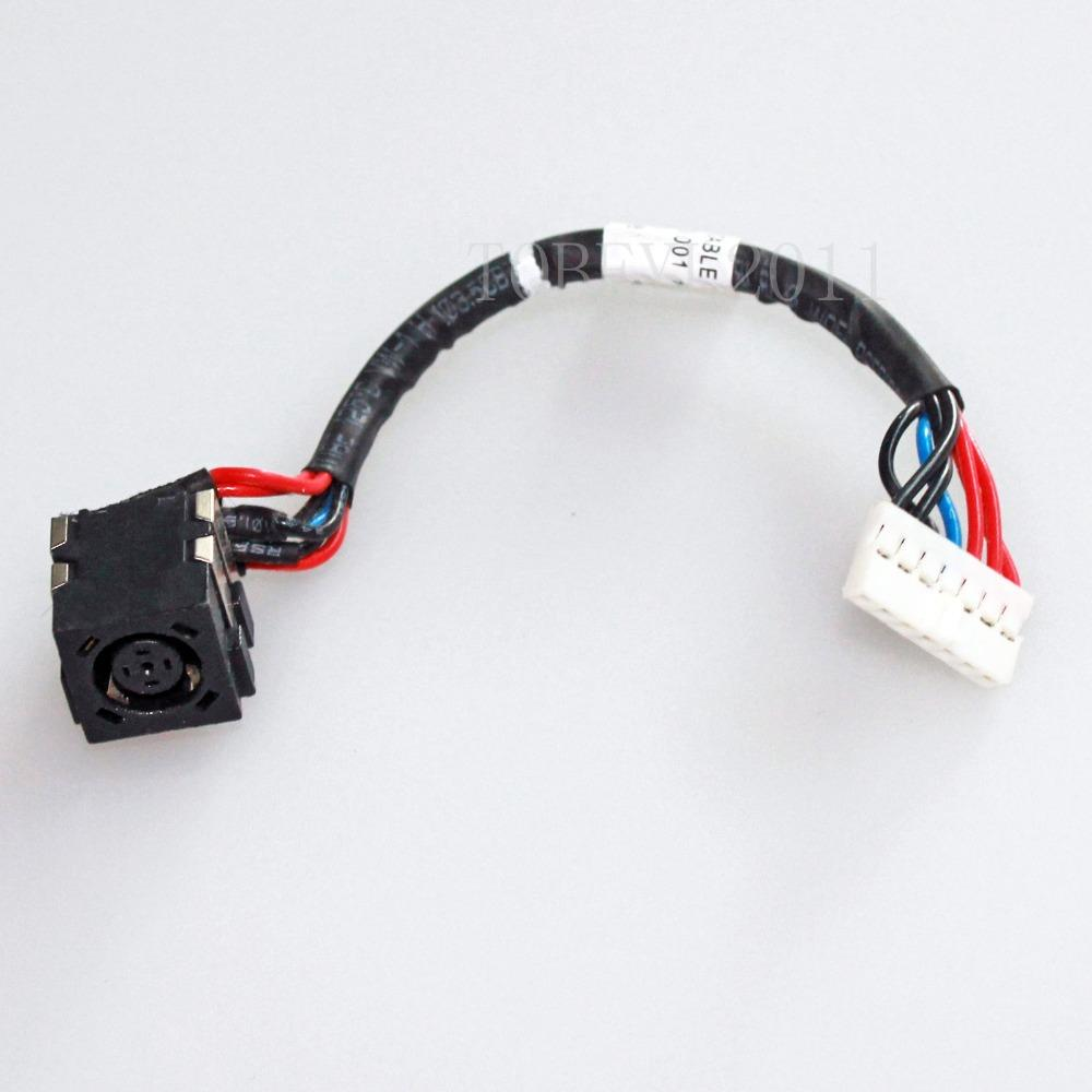 Ac Dc Power Jack Socket Harness Plug In Cable For Dell Vostro 1540 ...