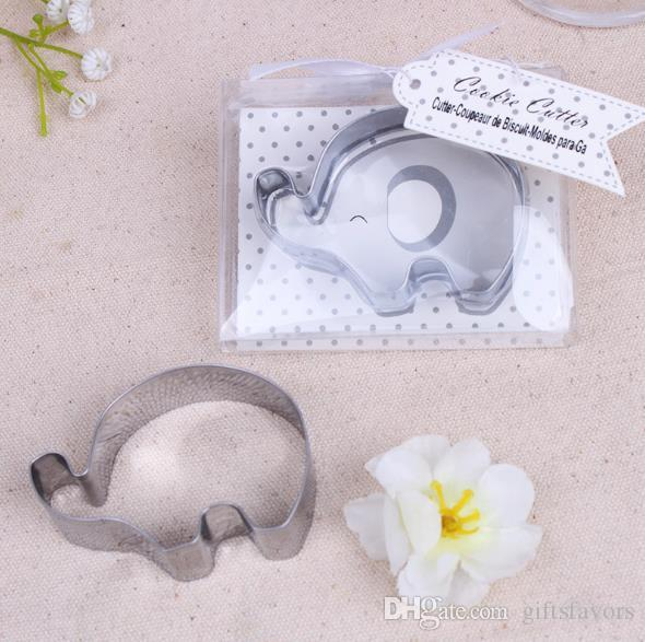Metal Lucky Elephant Cookies Cutter Favors For Baby Shower Wedding