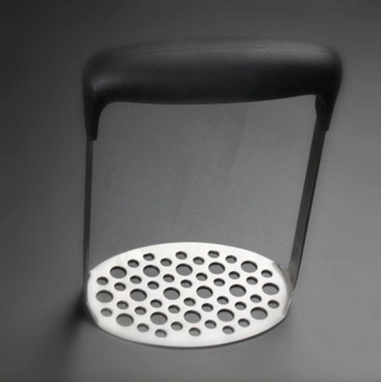 Yaratıcı Manuel Patates Ezici Paslanmaz Çelik Basın Kırıcı Plaka Pürüzsüz Püresi Mutfak Aletleri Düşmeye Direnç 7 3cw B