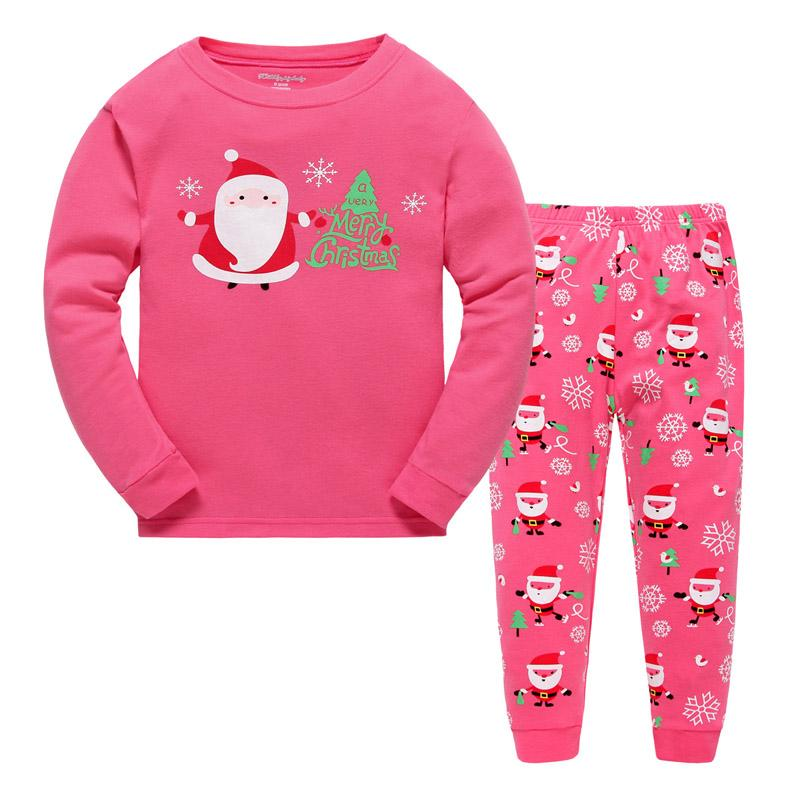 childrens christmas pyjamas kids cotton warm sleepwear baby girls pajamas set t shirt pants romper night clothes for boys personalized christmas pajamas - Childrens Christmas Pyjamas
