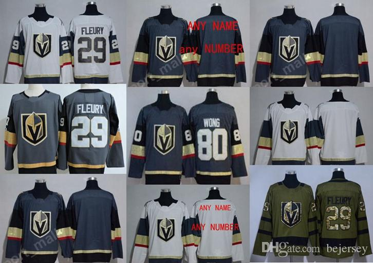 2019 Custom Vegas Golden Knights 2018 Hockey Jersey  17 Golden Knights 29  Fleury 100% Stitched Embroidery Hockey Jerseys Any Name And Any Number From  ... fad3d933791