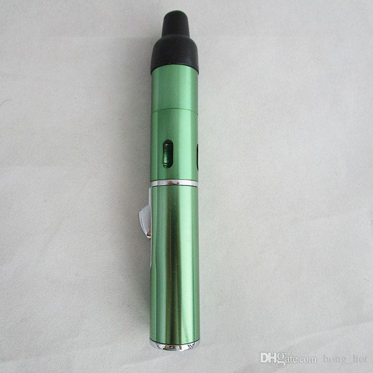 Chaude En Gros Cliquez N N Vape Sneak Un vaporisateur à base de Vapeur Vaporisateur à base de plantes fumant Tramp Flamme Briquet avec intégré dans la lumière du vent Torch Briquet