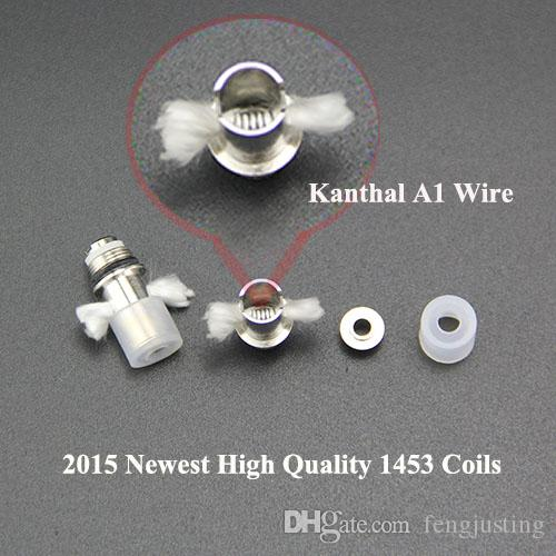 1453 2043 atomiseur bobines maxi original usine bobine noyau tête mèche remplaçable bobine noyau costume pour 1453 2043 maxi clearomizer