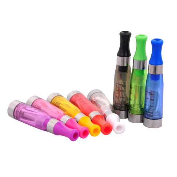 CE4 Atomizzatore eGo Clearomizer 1.6 ml 2.4ohm serbatoio del vapore Sigaretta elettronica batteria elettronica e-cig colori CE4 + CE5 spedizione gratuita 0203190 1