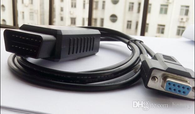ELM 327 COM 포트 OBD2 스캐너 ELM 327 코드 리더 RS232 ELM327 OBD II 진단 도구