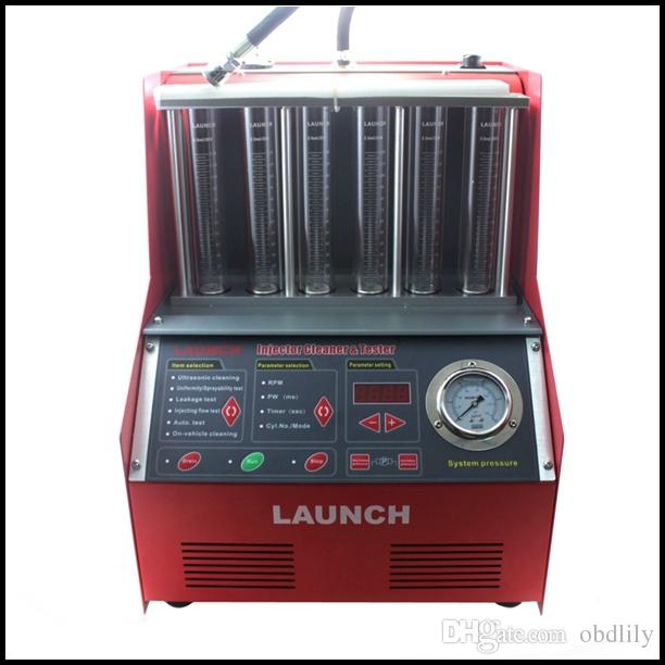100% Original Launch CNC 602A Injector Cleaner & Tester with English Panel Launch CNC602A CNC-602A