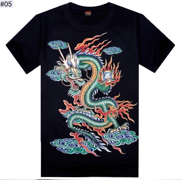 T-shirt 3d 2015 é novo homens do projeto Moda Casual Magro Masculino Impresso animal 3D Verão Camisetas Masculinas