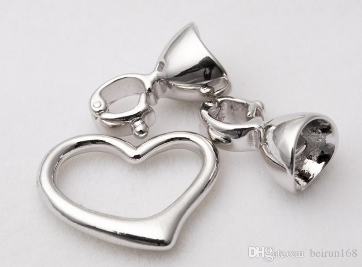 Envío libre al por mayor accesorios del collar de la perla Qian hui de alto grado collar de perlas hebilla K001