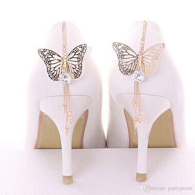 Fashion Genuine Leather Pointed Toe Lady's Nightclub Shoes White Color Bridal Wedding Dress Shoes