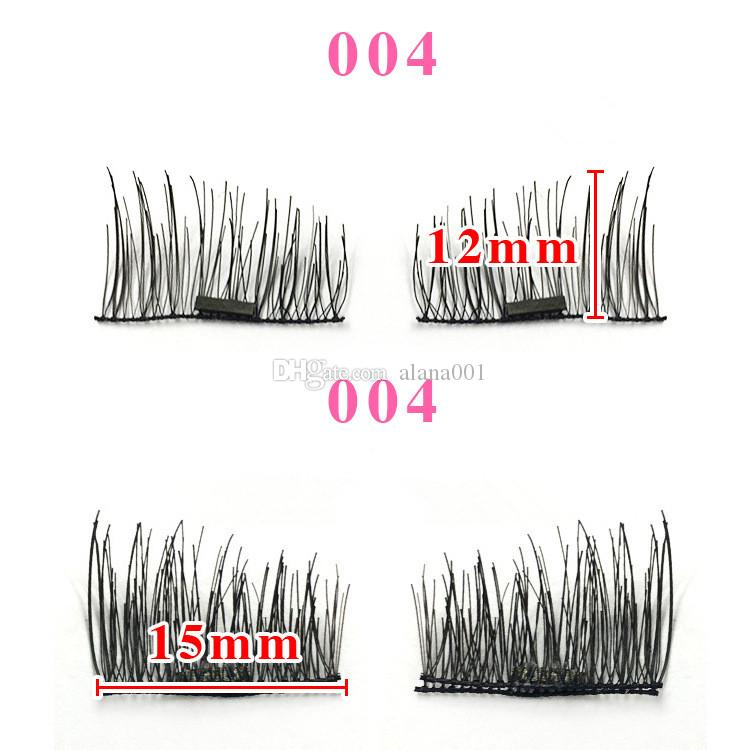 Single/Double Magnetic Eyelashes New Easy Wear Magnetic Eyelash False Eyelash Double Magnet Soft Hair Reusable Fake Magnetic Lashes