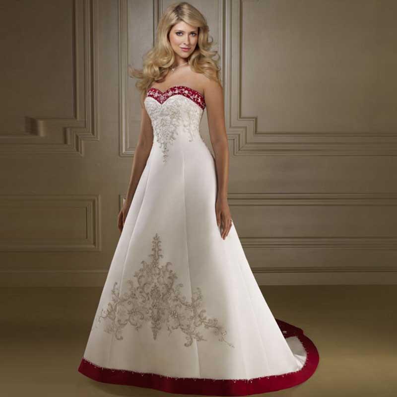 compre 2016 nuevos vestidos de novia del amor de una línea a line
