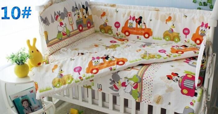New Design Mickey Minnie Mouse Bedding 100 Cotton Baby