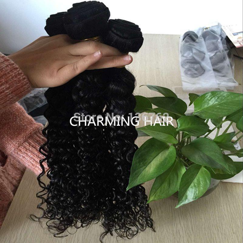 Brazilian Water Wave Brazilian Virgin Hair Ocean Wave Hair Brazillian Curly Wet and Wavy Human Hair Bundles 2016 8A