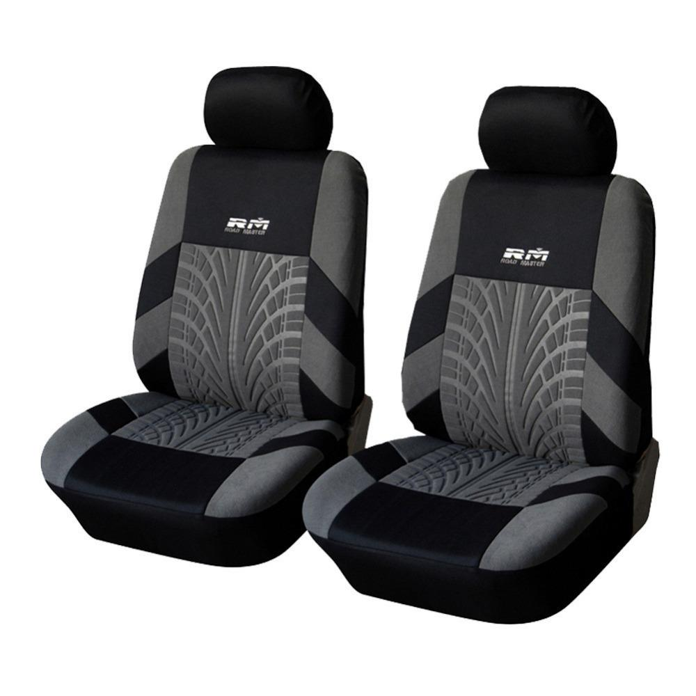 best quality hot sale front car seat covers universal fit tire track detail vehicle design seat. Black Bedroom Furniture Sets. Home Design Ideas