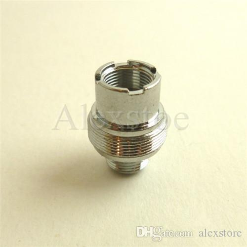Ego adapter connector 510-eGo 510-510 Convertor Metal ring Adaptor silver connection for 510 Thread Battery Vivi nova E-cigarette ecig e-cig