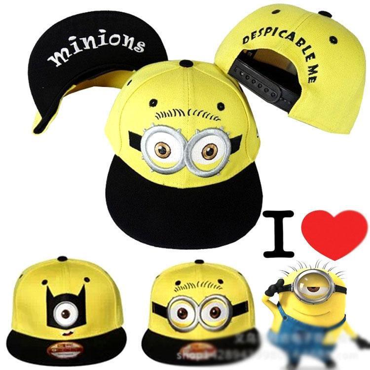 2c64c97e54c 3 Styles Despicable Me Hat Minions Plush Hats Jorge Dave Stewart ...