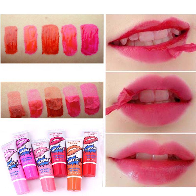 Brand Nutritious Lipstick Makeup Peel-off Lasts For 24h Magic Lip Tattoo Lip Gloss Baby Lips Waterproof Moisturizing Lip Balm