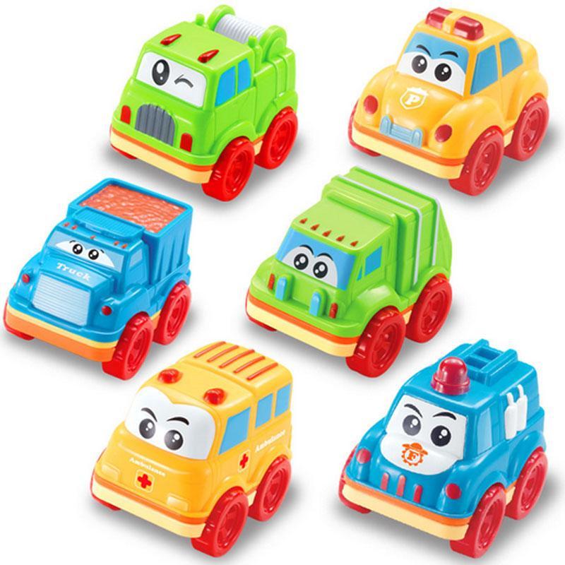 Lindo Niños De Rellenos Tractores Favor Juguete Tira Bebé Coche Bolso Partido Los Camión Del Botín Mini uTl1c3FKJ5