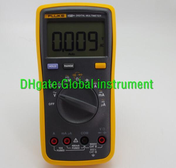FLUKE 15B + TL75 test kabloları ile dijital multimetre Test DMM F15B +