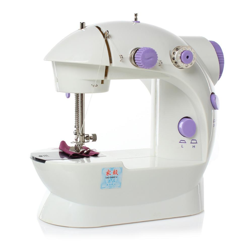 Hot Sell ABS Electric Household Mini Sewing Machine Dual Speed with ...