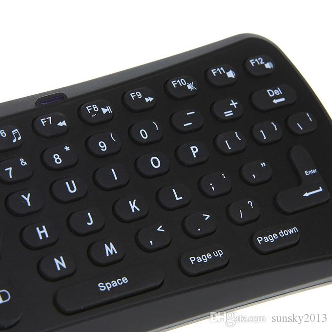 T6 Wireless Mini Keyboard 2.4G Air Mouse Gyroscope Gaming Gamepad Universal Remote Contrl for Android TV Box QWERTY Keyboards Wholesale