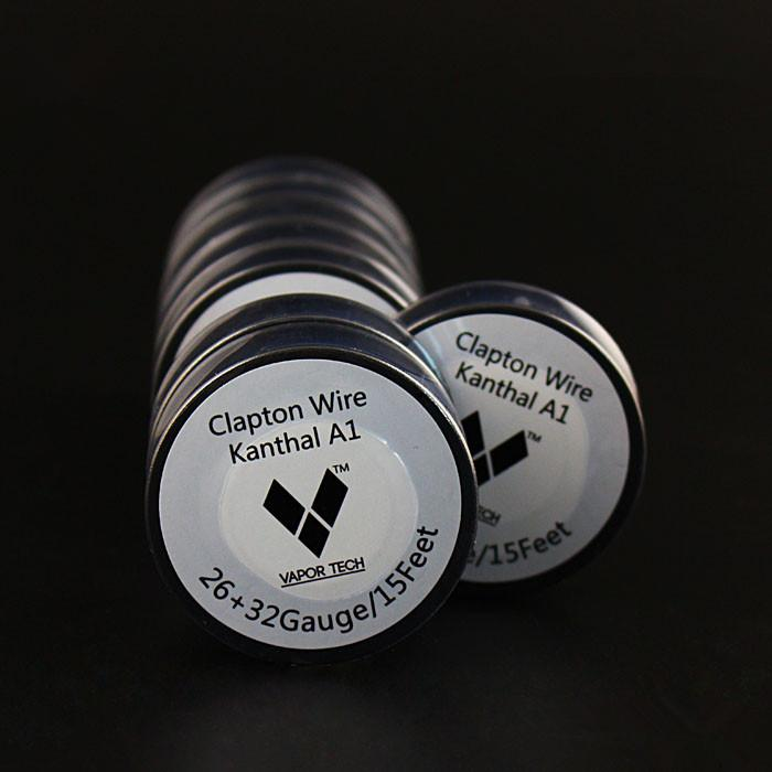 Wholesale vapor tech clapton wire resistance wire 15 feet 26 32 wholesale vapor tech clapton wire resistance wire 15 feet 26 32 gauge a1 wire for e cigarette atomizer rda atomizer vape mods wire ohms wire underfloor keyboard keysfo Image collections